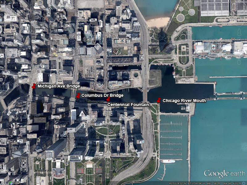 Chicago River Map/CWW/IISG