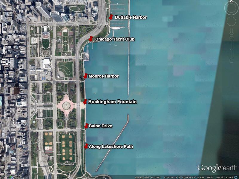 Lakefront Marinas Map/CWW/IISG on